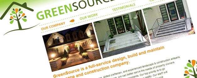 GreenSource old website