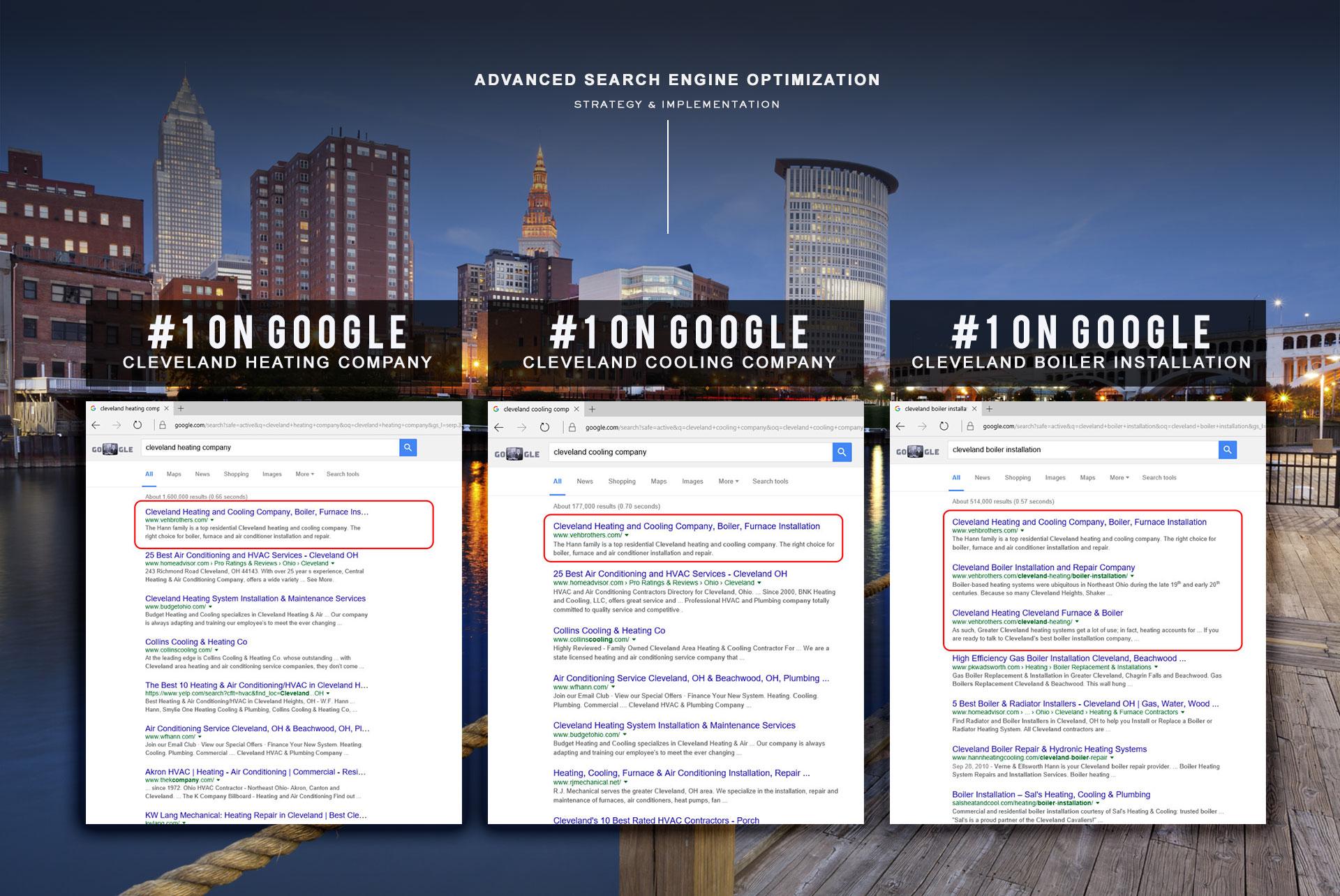 Cleveland Website Designer: Cleveland Heating And Cooling Company Website Design, Web